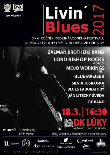 Žalman Brothers Band - Living Blues 2017